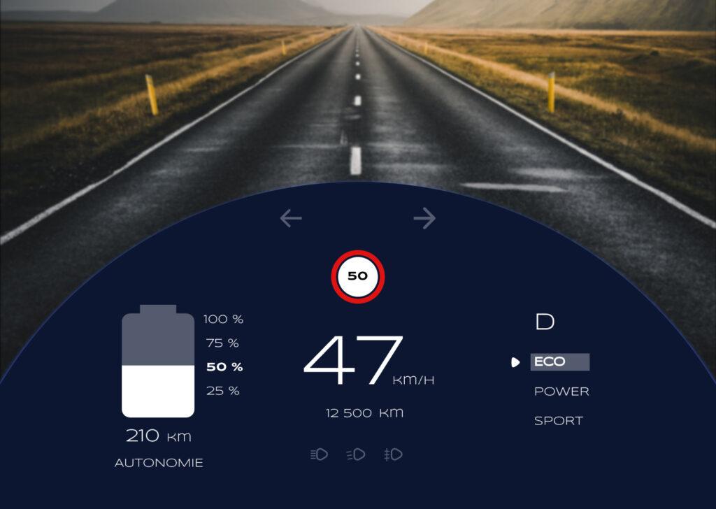 Interface de voiture électrique